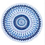 Round Beachtowel Estilo Decoration Lady Jewelry