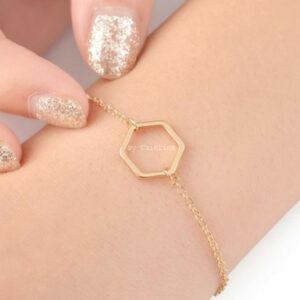 By-Caitlin-Hexagon-Armband